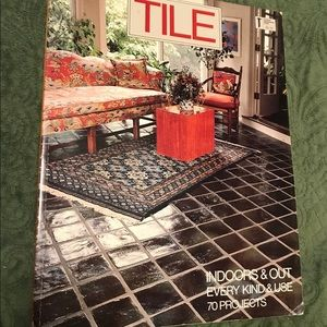 🆕 Tile Indoors and Out 70 Projects Book